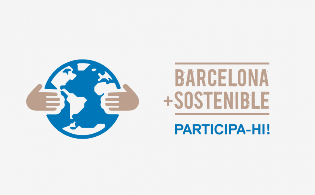 Barcelona +sostenible. Participa-hi!