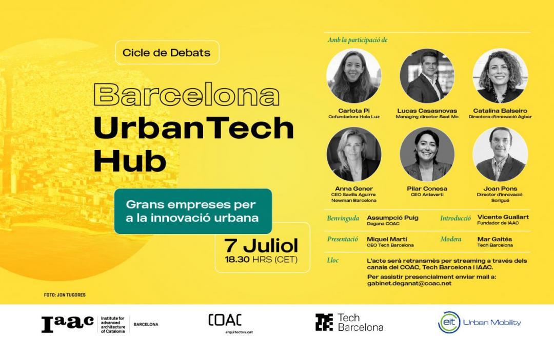 Cartell Barcelona Tech Hub