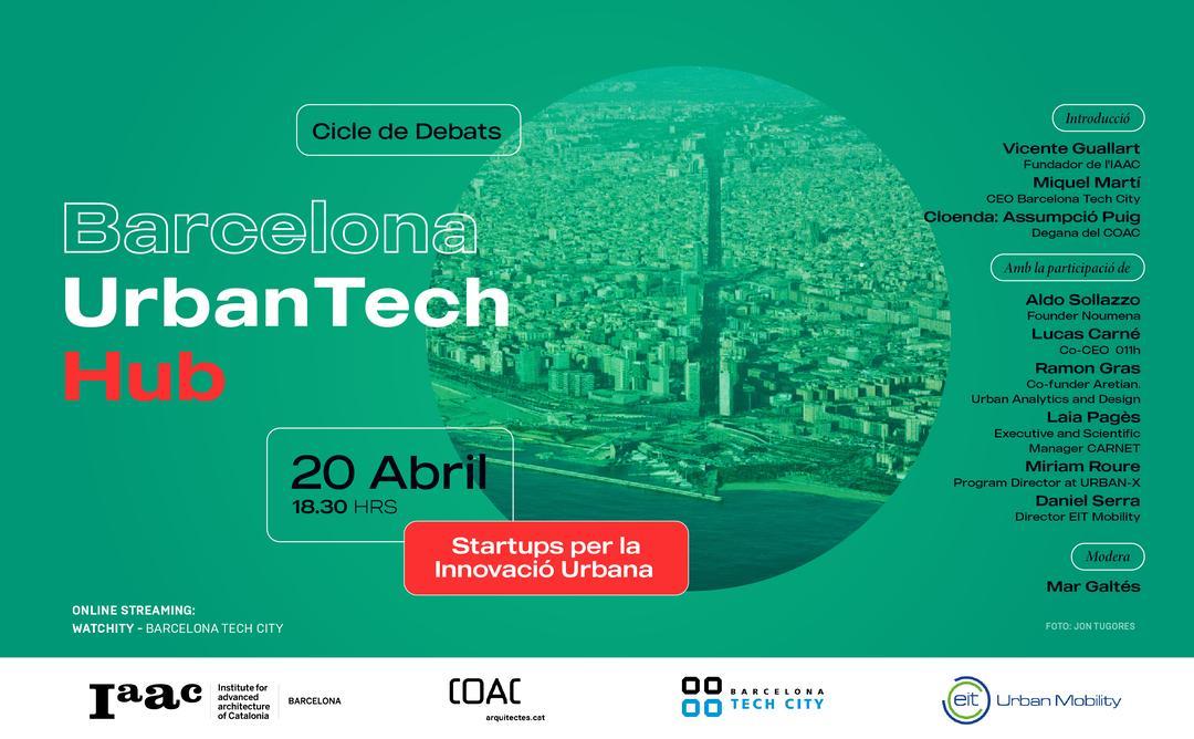 Barcelona urban tech hub