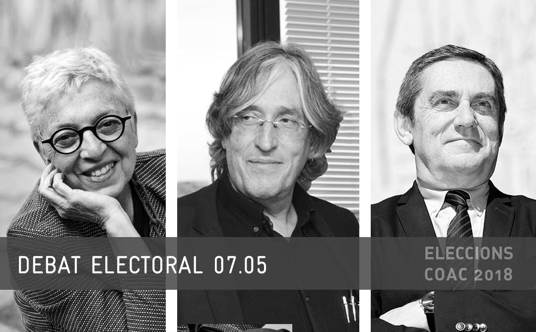 7 de maig: debat electoral amb els caps de llista a la Junta de Govern