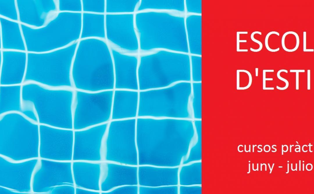 Escuela de verano, cursos relacionados arquitectura y diseño