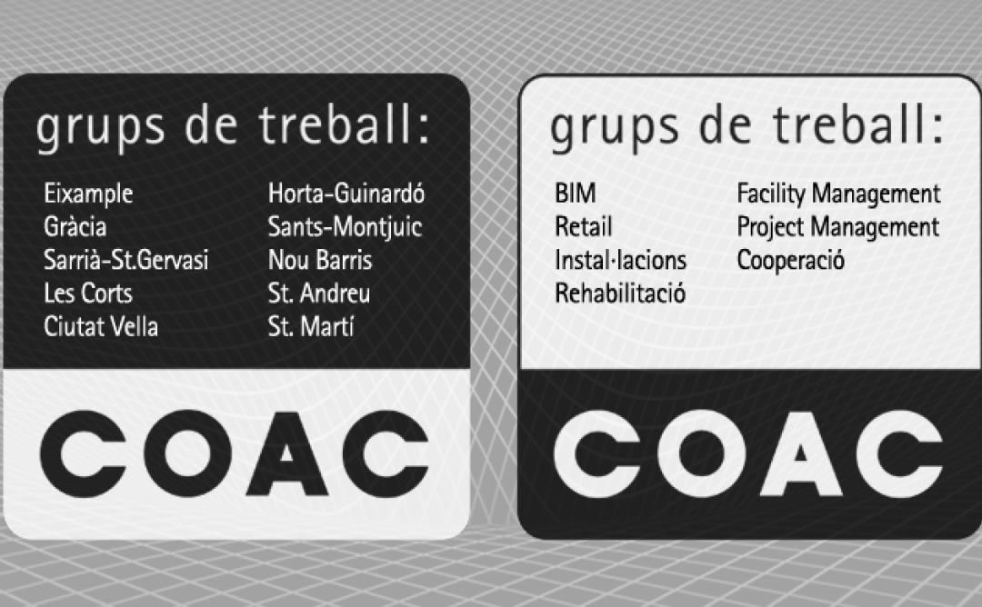 Acte de presentació dels Grups de Treball del COAC