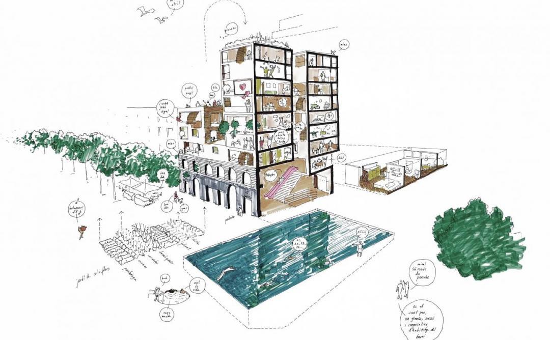 Habitatge asseqquible per la Barcelona post-COVID