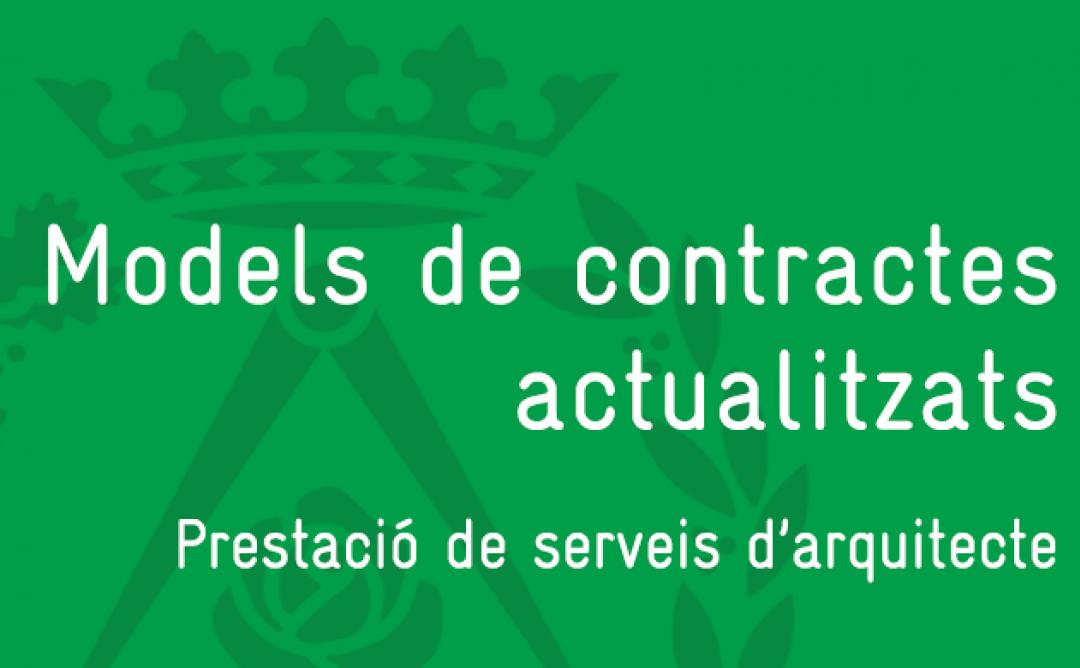 Models de contractes actualitzats