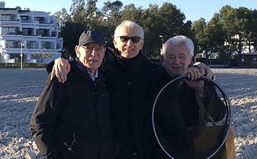 Manel del Llano, Víctor Rahola y Josep Quetglas