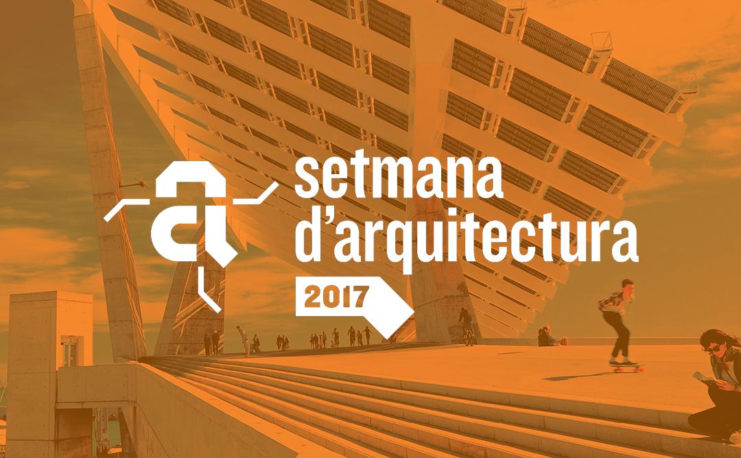 El COAC i l'Ajuntament de Barcelona presenten la Setmana d'Arquitectura 2017