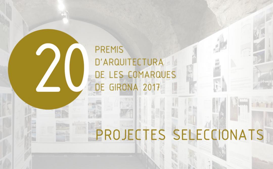 43 projectes són seleccionats a la 20a edició dels Premis d'Arquitectura de les Comarques de Girona