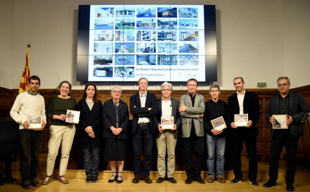 Entrega de premis de la 5ª mostra de les terres de Lleida