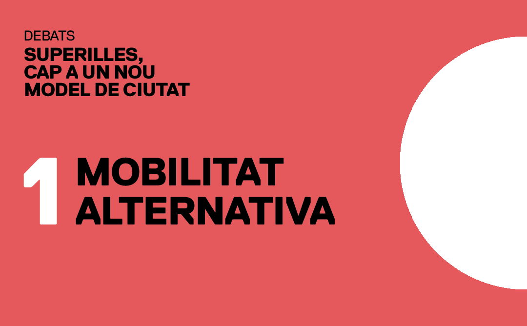 Superilles: mobilitat alternativa