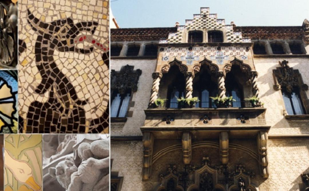 Visita a la Casa Coll i Regàs i la basílica de Santa Maria de Mataró
