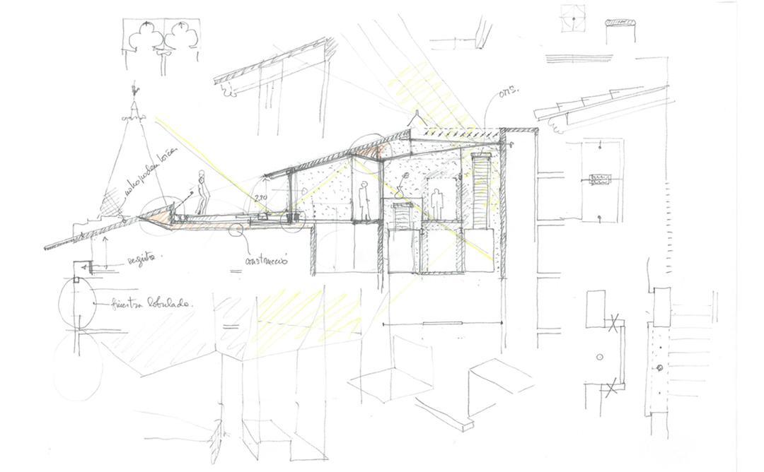Antoni Ubach. 8 llibretes de 8 projectes, 8 dibuixos d'un projecte
