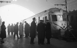 Fotografies del Fons Català-Roca als intercanviadors de transport de Madrid