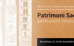 Patrimoni Sacre: permanent innovació