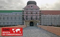Edifici rosa a Croàcia