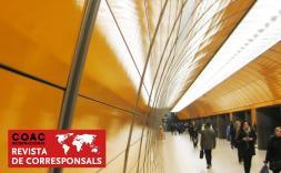 Tunel metro de Munic.