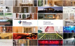 Collage 26 projectes Premis d'Arquitectura de les Comarques de Girona 2019 - 22a edició