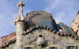 Visita a la finalització de les obres de restauració de la Casa Batlló