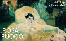 """l'exposició """"La rosa de foc. La Barcelona de Picasso i Gaudí"""""""
