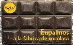 """Cartell de l'activitat """"Eupalinos, a la fàbrica de xocolata"""""""