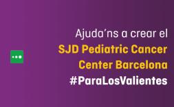 El COAC se suma a la campanya per ajudar a construir el SJD Pediatric Cancer Center Barcelona