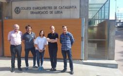 Presa de possessió de la nova Junta Directiva de la Demarcació de Lleida