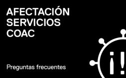 afectación servicios coac