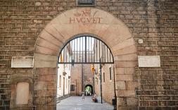 Porta entrada Reial Acadèmia de Medicia de Catalunya