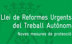 Llei de reforme urgents del trebal autònom