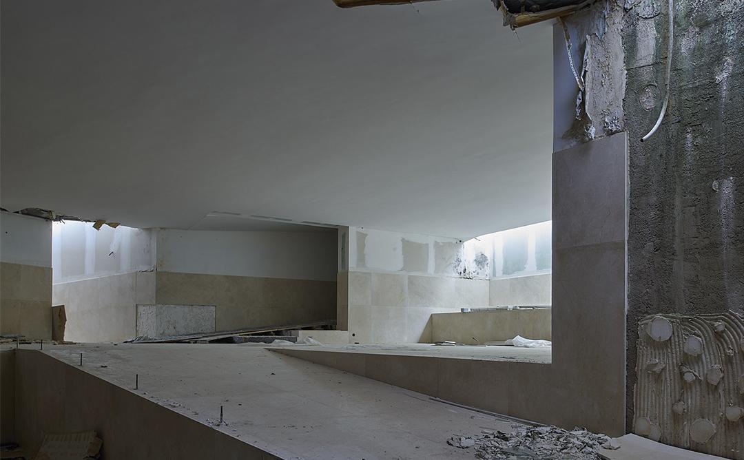 edifici abandonat