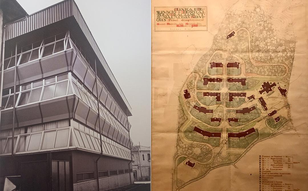 La Artesana de Manuel Martín y Clínica para Tratamiento de Enfermedades Nerviosas en Santa Coloma de Gramanet de Josep Maria Pericas